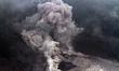 Landslide Threatens Villages of Mount Sinabung