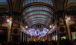Light installation in Turin