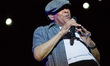 The American singer Al Jarreau in Turin