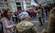 Rally against Racism in Stuttgart