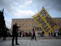 Greeks Protestesters Demand End To More Austerity Measures