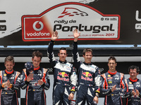 Vodafone Rally de Portugal 2017 - Fafe Power Stage Podium