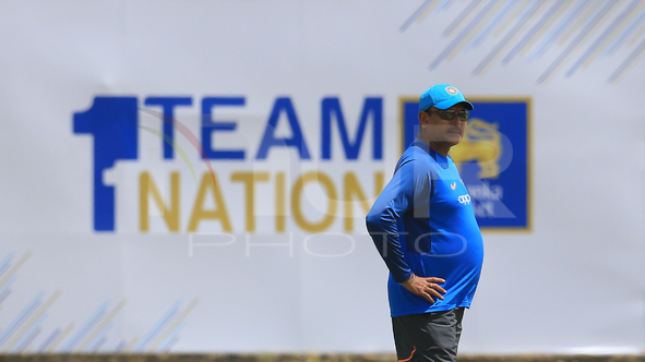 The practice session ahead of the 1st test match Sri Lanka vs India