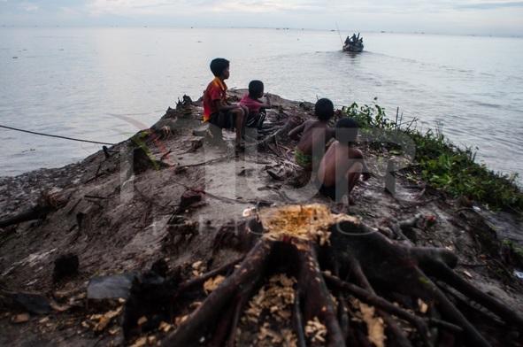 Riverbank Erosion in Bangladesh
