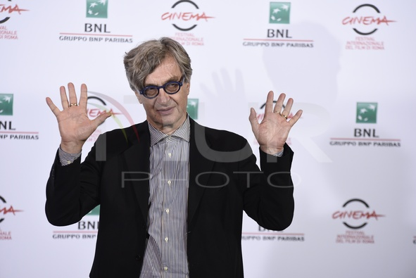 International Film Festival of Rome, ninth edition. Wim Wenders's photocall.