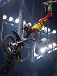 Maikel Melero wins the first day of Diverse NIGHT of the JUMPs freestyle motocross in Krakow's Arena
