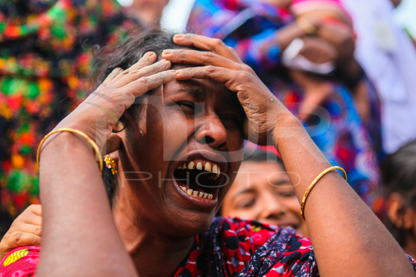 Second anniversary of the Rana Plaza building collaps