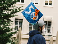 Anti-nuclear Weapon Protest In Bonn