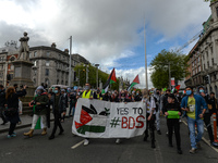 Rally For Palestine In Dublin