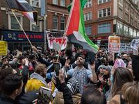 Protest For Palestine In London