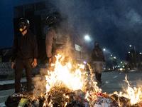 Anti-government Protests In Bogota