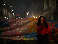 Protest In Mexico City