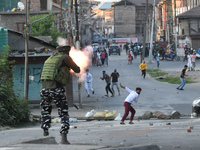Clashes In Kashmir After The Death Of Senior Pro Freedom Leader Syed Ali Shah Geelani