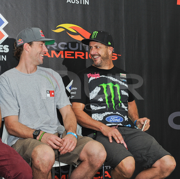 X Games press conference