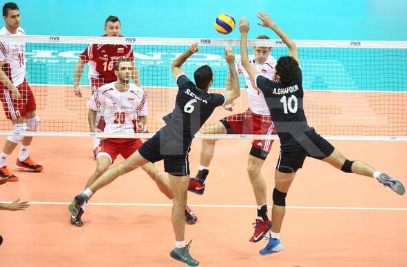 Volleyball: Poland v Iran game in Gdansk, Poland
