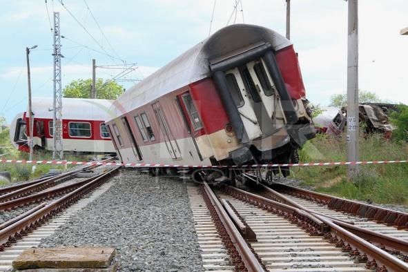 Bulgaria train crash