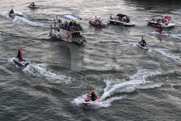 12th Boat Carnival In Belgrade, Serbia
