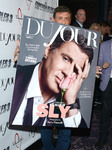 Party for Sylvester Stallone' s cover of DuJour Magazine