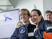 Germany Presents Its First Female Astronauts