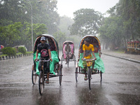 Heavy Rain in Dhaka