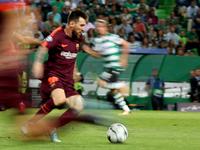 Sporting v Barcelona - UEFA Champions League